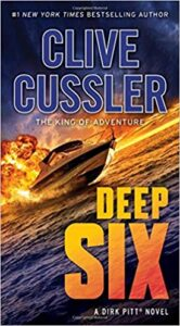 Adventure novelist & under water explorer, Clive Cussler