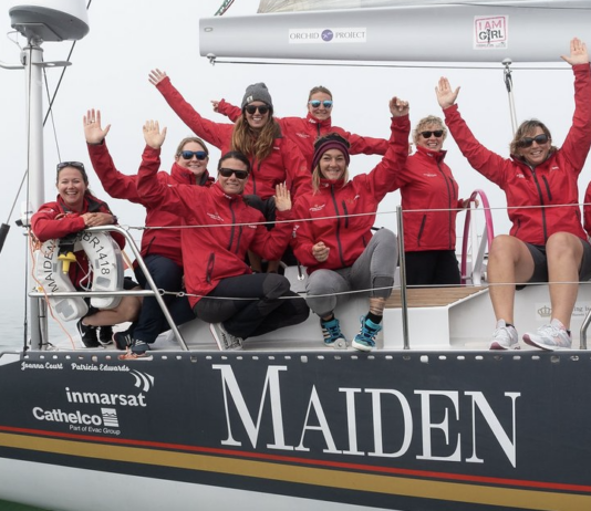 All-Female Crew Aboard the Maiden
